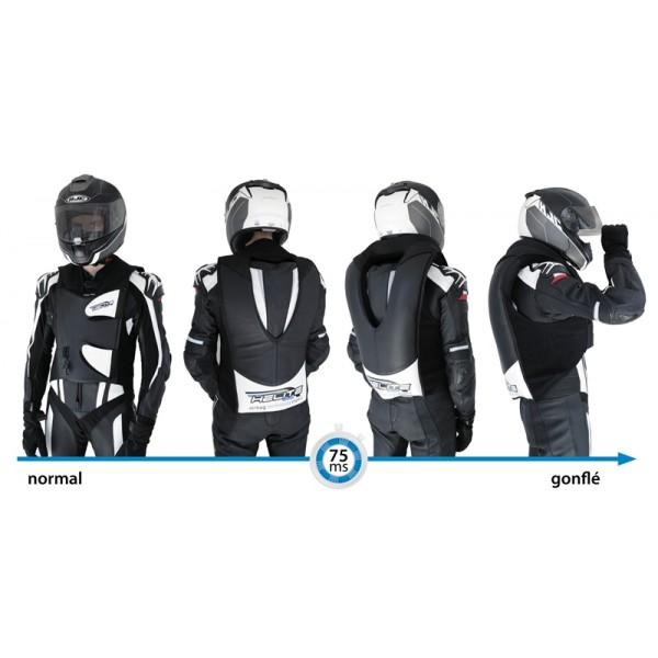 gilet airbag moto gp air gmr racing. Black Bedroom Furniture Sets. Home Design Ideas